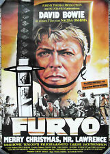 Filmplakat Furyo - Merry Christmas Mr. Lawrence  DAVID BOWIE - gerollt A0  1983
