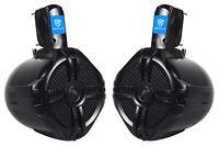 """(2) EasyMount Soundbar/Roll bar Speakers 6.5"""" 500W Waterproof For Jeep Wrangler"""