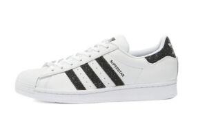 Adidas Originals, BNWT, Superstar Swarovski Crystals Sz 10.5 White/Black Run DMC