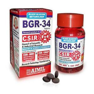 Aimil BGR-34  100 Tablets Free Shipping