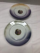 New ListingSet Of Two Decorative Plates Multicolor 7�