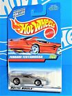 Hot Wheels 1998 Mainline Release #784 Ferrari Testarossa Silver w/ 5SPs