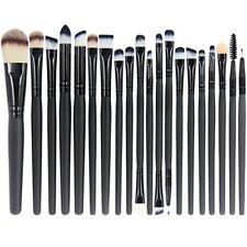 EmaxDesign 20 piezas juego de brochas de maquillaje profesional para rostro