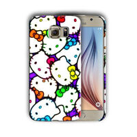 Hello Kitty Samsung Galaxy S4 5 6 7 8 9 10 E Edge Note 3 - 10 Plus Case 04