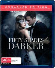 """FIFTY SHADES DARKER: Unmasked Edition"" Blu-ray - Region [B] NEW"