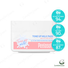 Makeheal Peelosoft Tone Up Milk Pads 30 (K-Beauty)