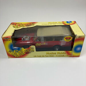 The Monkees Mobile 2002 Ertl Collectible American Muscle 1:18 Scale Diecast Car