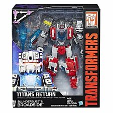Transformers Generations Titans Return Voyager BROADSIDE G1 WAVE 4 IN STOCK USA