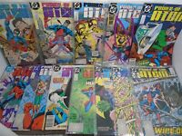 Power Of The Atom DC Comics #'s 1 2 3 4 6 7 8 9 10 14 15 & 16 from 1988/89