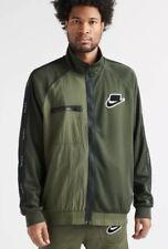 NIKE MEN'S SPORTSWEAR NSW Full Zip Jacket Green MEDIUM BV4603-355