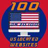 PREMIUM PACKAGE - 100 USA backlinks high domain authority Backlins DA 20-100