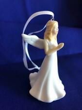 Royal Doulton Angel Bone China Blessed Christmas Ornament Blonde new in box!