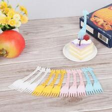 Home Decoration Fruit Fork Cutlery Party Forks Set Tableware Party Utensils W