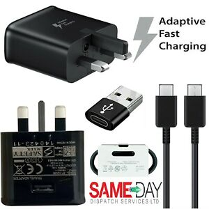 Genuine Samsung 25W Super Fast Charger Plug & Cable For Galaxy S20 S21+ Ultra 5G