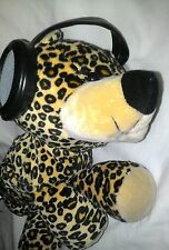 Iflops Soft Baby Leopard W/Headphone Speakers For iPod&MP3 Player Stuffed Animal