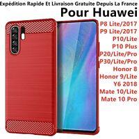 COQUE HOUSSE HUAWEI P10 LITE/P20/P30 PRO P8/P9 HONOR 10/8 HONOR 9 LITE/Y6 2018