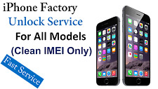 AT&T FACTORY UNLOCK CODE SERVICE For iPhone 5 5S 5C 6 6+ 6s 6s+ 7(CLEAN IMEI)