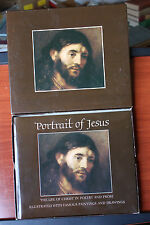 Portrait of Jesus - Life of Christ in Poetry & Prose - Famous Paintings 1972 HC