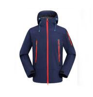 D100 Men Dark Blue Ski Snow Snowboard Waterproof Breathable Jacket S M L XL XXL