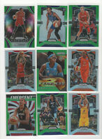20 count lot mixed 2019/20 WNBA Panini Prizm Inserts and Color Prizm Cards LOOK!