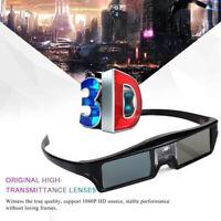 BOBLOV 3D DLP-Link 144Hz Active Shutter Glasses  Movie USB For BenQ W1070 W700