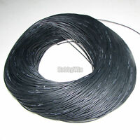 24AWG Black Soft Silicone Wire X10M Bending Cold-freeze & High-temp Resistant