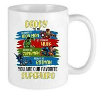 DADDY YOU ARE MY FAVORITE SUPER HERO - Coffee Mug Father's Day Gift
