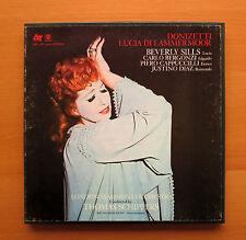 Donizetti Lucia Di Lammermoor Beverly Sills 3xLP ABC ATS 20006-3 Stereo NM/VG