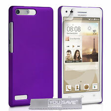 New HUAWEI ASCEND G6 Hybrid Hard Plastic Case Cover with Free Screen Protection