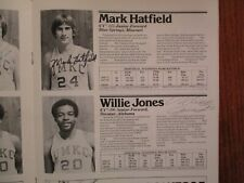 1978 Missouri-K C Men's Basketball Program(18 Signed/Darrell Corwin/Willie Jones
