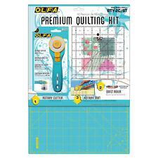 1x Rotary Cutter & Mat Aqua Couture Craft Outil Hobby Art UK vrac filoro