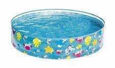 More details for bestway fill n fun kids paddling swimming pool easy set up rigid vinyl pvc