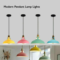Metal Vintage Shade Industrial Chandelier Pendant Ceiling Dinner Light Lampshade
