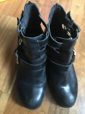 Carvela- Kurt Geiger Black Boots Size Size 37 (uk4/4.5)£25