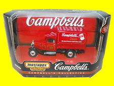MatchBox Truck Campbells Soup Toy Minature Vintage HO collectible match box gift