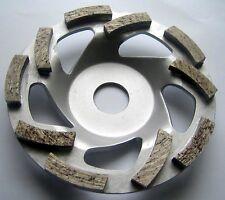 125 mm Diamant-Schleiftopf Schleifteller -Neu- Turbo Beton Estrich universal