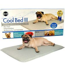 K & H Dog Cooling Pet Mat Pad - No Gel Water Based Comfort- Cool Bed III Large