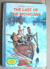 LAST OF THE MOHICANS 1964 James Fenimore Cooper misprint edition Fennimore HB VG