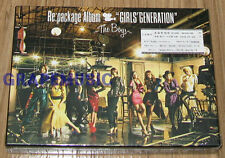 GIRLS' GENERATION JAPAN 1ST ALBUM Re:package Album The Boys CD + DVD + POSTER