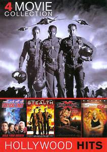 4 Movie Collection (2 DVD set, 2012)  XXX State of the Union  Simon Sez  Stealth