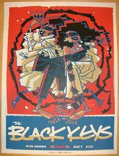 2012 The Black Keys - Portland Silkscreen Concert Poster by Guy Burwell s/n