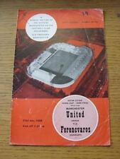 COPPA UEFA 31/05/1965 [tra le città le fiere] semi-finale: Manchester United V ferencv