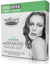 2X Nature's Essence Mini Diamond Facial Kit- 64g Deep cleansing, glowing skin
