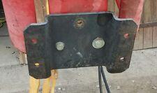 Anbauplatte für Rasentraktoren Gutbrod Sprint 800e 1000e 1200e 1002e