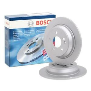 Bosch Rear Brake Disc Rotors 296mm BD976