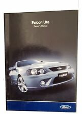 Ford Falcon Ute Owners Manual 2006