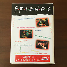 FRIENDS - TEMPORADA 2 - 4 DVD DOS CARAS - EPISODIOS 25 A 48 - 528 MIN - WARNER