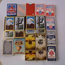 Poker Bridge Playing Cards Lot from estate Boats Egypt Airline Scooter Store +++
