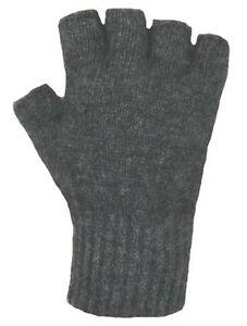 New Pricing - New Zealand Possum Fur Merino Wool Knitwear Open Fingerless Gloves