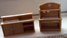 Sylvanian Families Matching Sink Unit  And Dresser